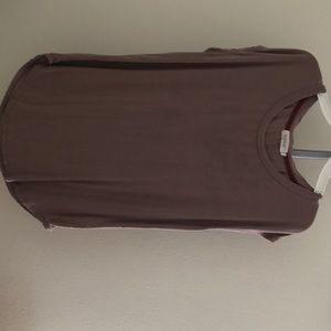 Brown Marlow t shirt